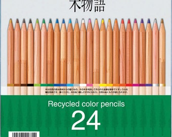 24 Pack Tombow Recycled Colored Pencils, Assorted Colors