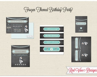Frozen/Olaf Party Printables