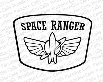 Space Ranger Decal - Toy Story Decal - Buzz Lightyear Decal - Pixar Decal - Car Decal - Truck Decal - Laptop Decal - Yeti Decal