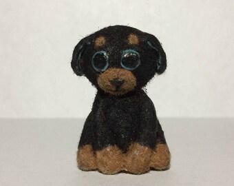 Adorable Polymer Clay Dog