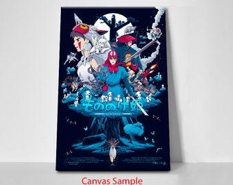 Studio Ghibli, Princess Mononoke Cover Art