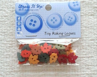 Tiny Raking Leaves by Dress It Up - Packages of 35                                                          02/2018