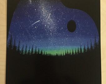The art of the night print
