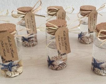 Wedding Favor Baby Shower Party Favor Bridal Shower Blue Sea Star Candles