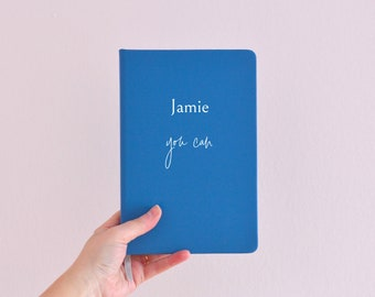 You can personalised journal, customised notebook, motivational journal, inspirational notebook, uplifting gift, gift for her, gift for him