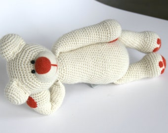 Dodo - Crocheted Bear Toy, Handmade Bear Doll, Stuffed Animal, Kids Toys, Baby Gift, Teddy Bear Toy