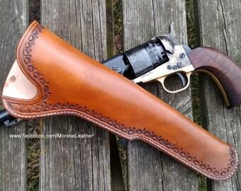 Slim Jim holster, scabbard holster, gun holster, western holster
