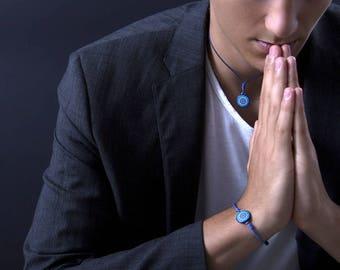 Bracelet, Mandala, Chakra-Bijoux, Ajna, intuition, psychic sensibility