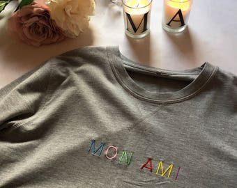 Mon Ami Embroidered Sweat