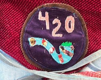 Dog Bandana , Stash Pocket, 420, Pipe,
