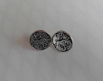 Taurus Post Earrings
