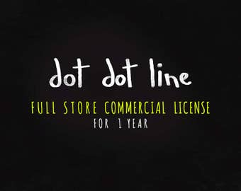 Full Store COMMERCIAL USE LICENSE ** reproduction 1 year