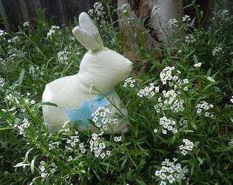 Soft Green Bunny