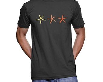 Unisex Three Starfish Shirt