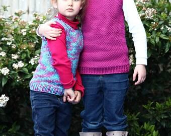 Scooter Vest (Crochet pattern)