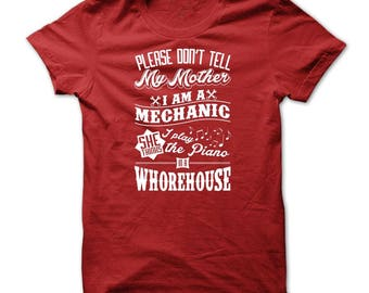 Mechanics Shirt - Funny Mechanics Tshirt - Mechanic T shirt - Funny Tshirts - Automotive Tshirts - Gifts For Mechanics - Petrol Heads - DIY