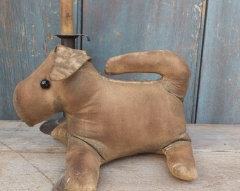 Primitive Cloth Doll - Dog