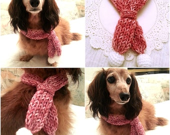 Dog Scarf, Dog Collar, Dog Bandana, Dog Cowl, Crocheted Scarf, Cat Cowl, Pet Accessory, Pet Clothing Apparel, Pet Scarf, Presents for Dogs