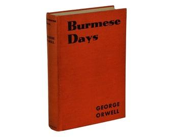 Burmese Days ~ GEORGE ORWELL ~ First American Edition ~ 1934 1st Printing