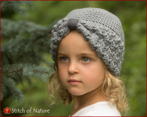 Crochet Pattern The Margaret Turban Hat 1920s Hat Pattern