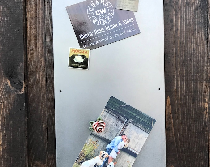 Smile Magnet Board, Magnetic Boards, Bulletin boards, Office Message Board, Rusted Metal Sign, Smile Sign, Organizational Board