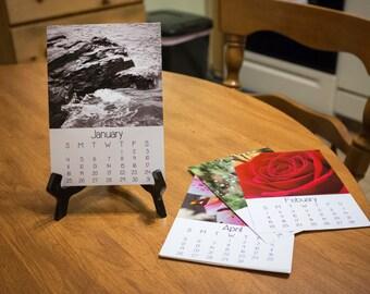 2018 Desk Calendar, Nature Photography, 5x7, Fine Art Prints, Nature