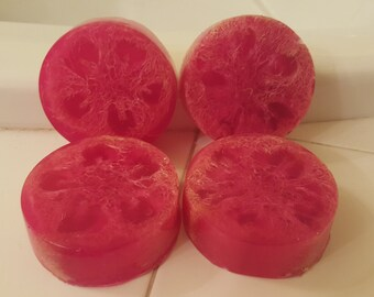 Senational Pomegranate All Natural Exfoliating Soap