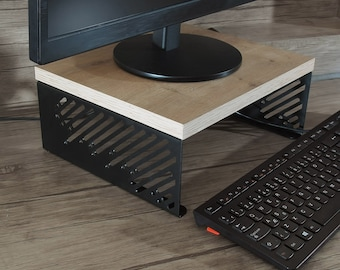 signboart DIAGONAL, Iron Sheet& Coated Chipboard monitor stand, monitor riser