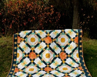 GYPSY QUEEN  -     Eazy Quilt!!                      Designer - Michelle Cavanna for Cora's Quilts.