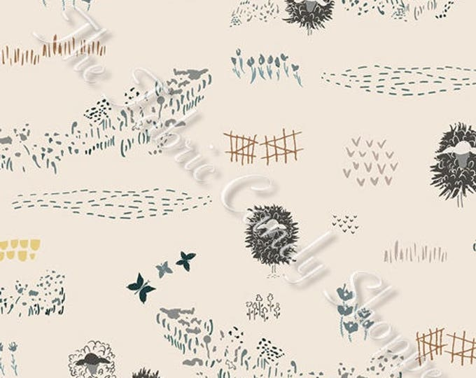 Lambkin by Art Gallery Fabrics - Lambscape Yonder - Cotton Woven Fabric