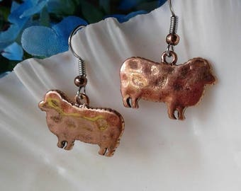 Sheep Lamb Earrings