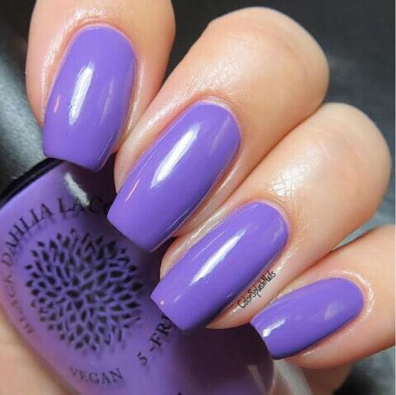 Purple Creme Nail Polish By Black Dahlia Lacquer Lavender