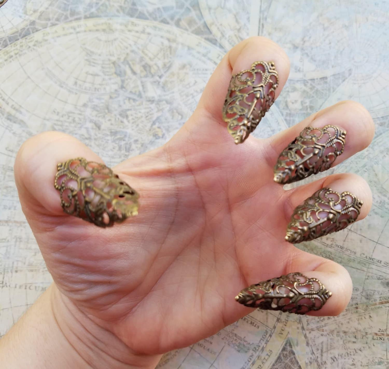 Stiletto Nails Dragon Claw Finger Claws Gothic Vampire