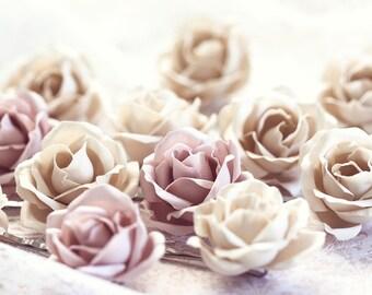 72_Fabric flower hair pins, Hair rose, Flower clips, Wedding accessory,Hair flower, Floral hair pins,Hair accessories,Flower hair pin, pins