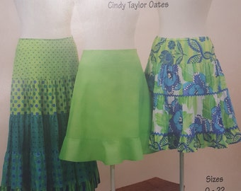 Sassy Skirts by Cindy Taylor Oats