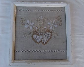 Wedding composition  Embroidery-Wall Decor