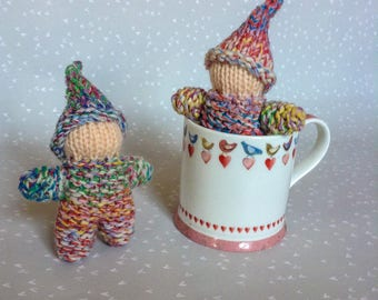 Set of Two Tiny Gnomes