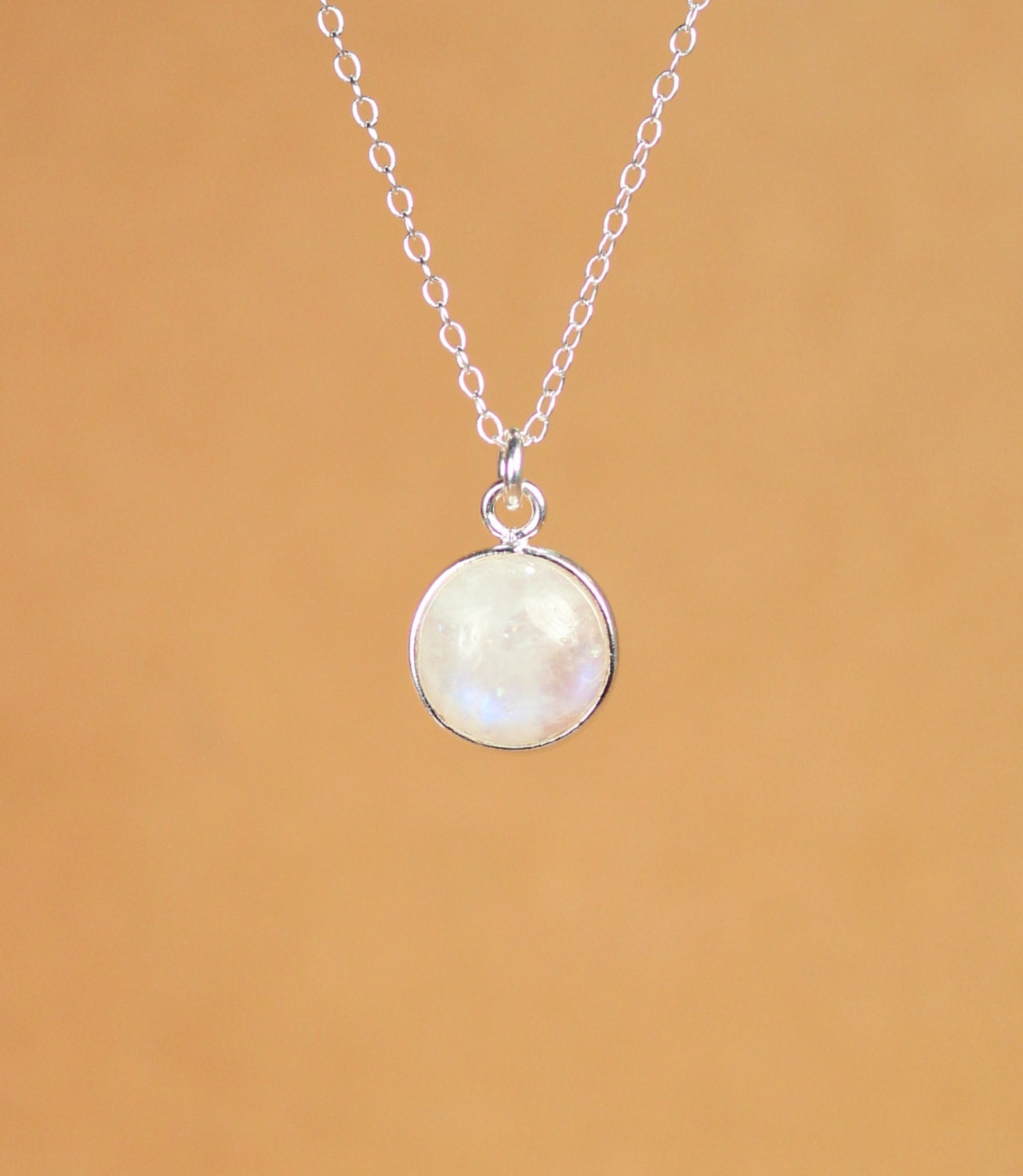 moon necklace stone gold everyday yellow moonstone blue by pear shaped pendant on rainbow pin etsy jewelluxe