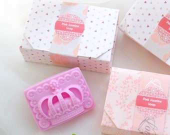 Handmade Soap Pink Jasmine Crown