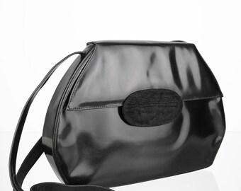 Smooth Leather vintage Shoulder bag