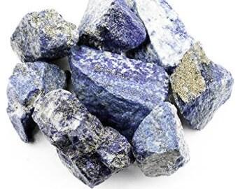 Bulk 1lb Rough Raw Lapis Lazuli Gemstones, Bulk Wholesale Blue Lapis Rough Stones, Raw Blue Lapis Gemstones, 1 Pound Gemstone Lot Wholesale