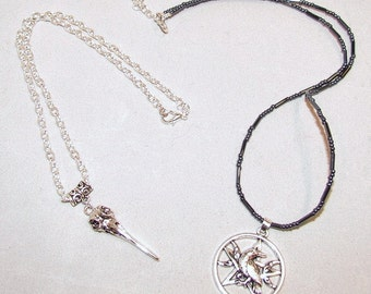 Raven Necklaces