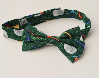 Golf Bow tie | Boys Bow tie | golf