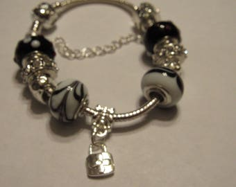 Charm bracelet locket