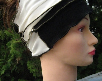 Black and White Fashion Scarf 19/09/S
