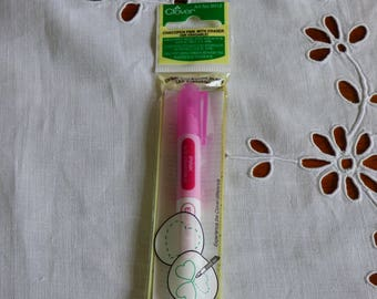 Clover Chacopen rose avec effaceur ref 5012