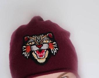 Soft warm cap Winter hat unisex knit cap 100% Cashmere