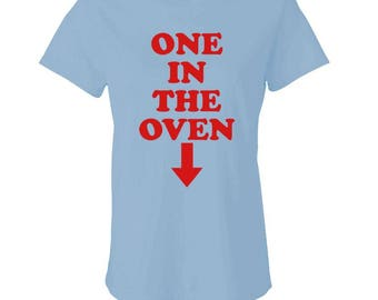 ONE In THE OVEN - Ladies Babydoll T-shirt
