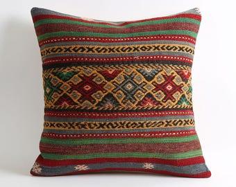 boho pillow 20x20 couch pillows geometric pillow bohemian pillow throw pillow cover accent pillows boho chic kilim pillow cover, kilim rug