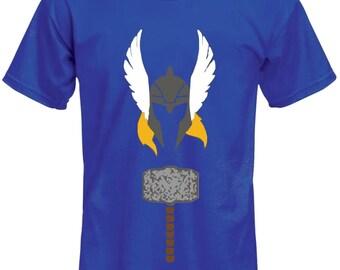 Minimalist Retro Thor Shirt- Marvel Shirt - Comic Shirt- Superhero Shirt -Thor Shirt